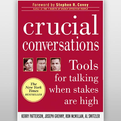 Crucial Conversations –Tools for Talking When Stakes Are High, de Kerry Patterson, Joseph Grenny, Ron McMillan, Al Switzler